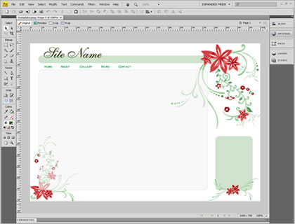 Template 1151 [General] - Adobe Fireworks View