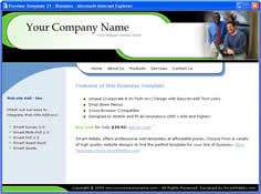 CSS dreamweaver template 21 - business